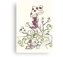 wonderland cheshire cat Canvas Print