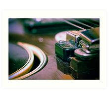 """""""Any problem you can't solve with a good guitar, is either, unsolvable or isn't a problem."""" Art Print"""