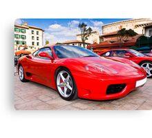 Ferrari Show Day - 360 Modena Canvas Print