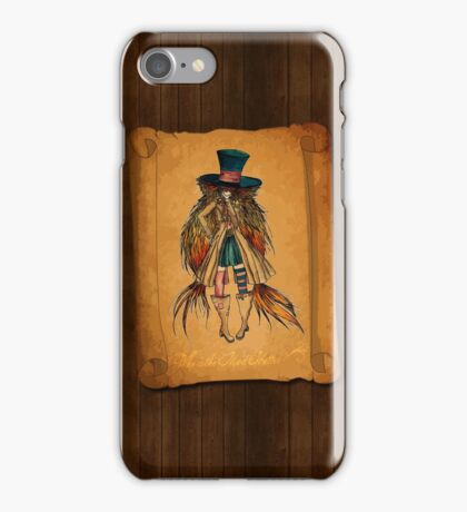 Who is the Mad Hatter ? iPhone Case/Skin