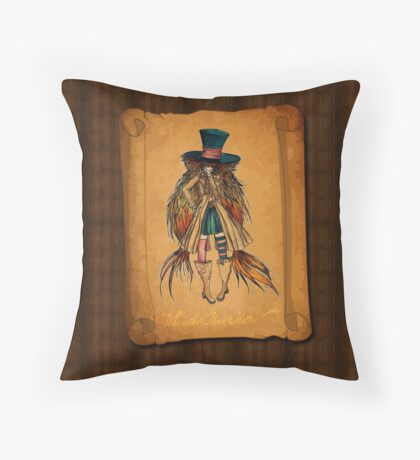 Who is the Mad Hatter ? Throw Pillow