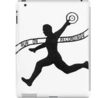 "Run On Recordings ""Basic"" Design iPad Case/Skin"