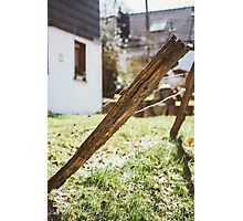 Old Rural Fence Photographic Print
