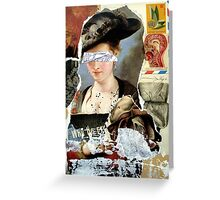 LETTRE Greeting Card