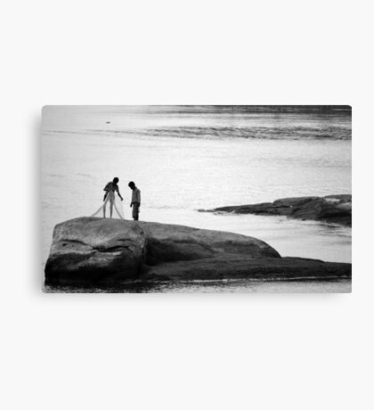 You sure you know how to work this? Canvas Print