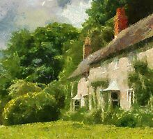 Cottages at Stourhead by John Morrison