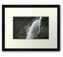 In the Hall of the Mountain King- Gush Framed Print
