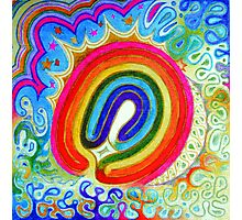 rainbow labyrinth Photographic Print