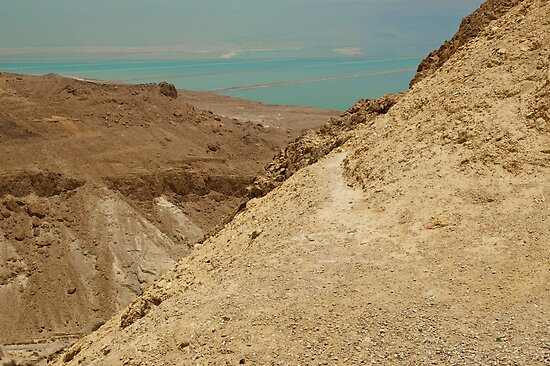 Dead Sea From Above by Michael Redbourn