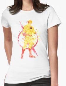 Supervillian Splatter Art Womens Fitted T-Shirt
