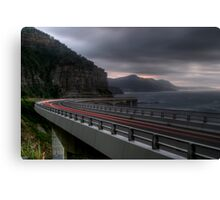 Storm Cliff Bridge Canvas Print