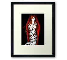Daughter of the Night Framed Print
