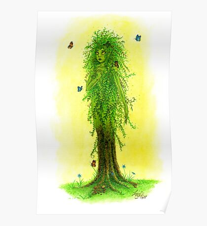 Willow Dryad Poster