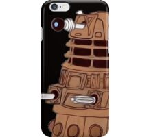 Bronze Dalek. iPhone Case/Skin