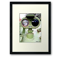 R-bot! Framed Print
