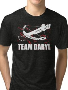 Team Daryl Dixon The Walking Dead Tri-blend T-Shirt