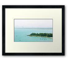 da nang beach Framed Print