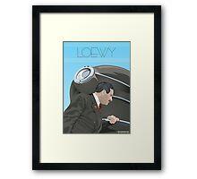 Raymond Loewy Framed Print