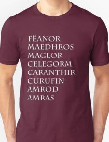 Feanor & Sons Normal Style Unisex T-Shirt
