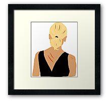 Back to Buffy Framed Print