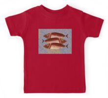 THREE CAREFREE FISH Kids Tee