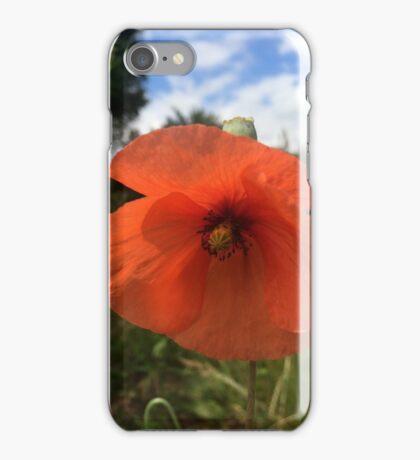 Summer Poppy iPhone Case/Skin