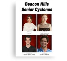 Beacon Hills Senior Page Canvas Print