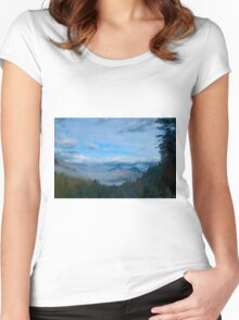 Chief Joseph Highway Women's Fitted Scoop T-Shirt