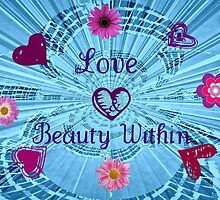 Love & Beauty Within by June Holbrook