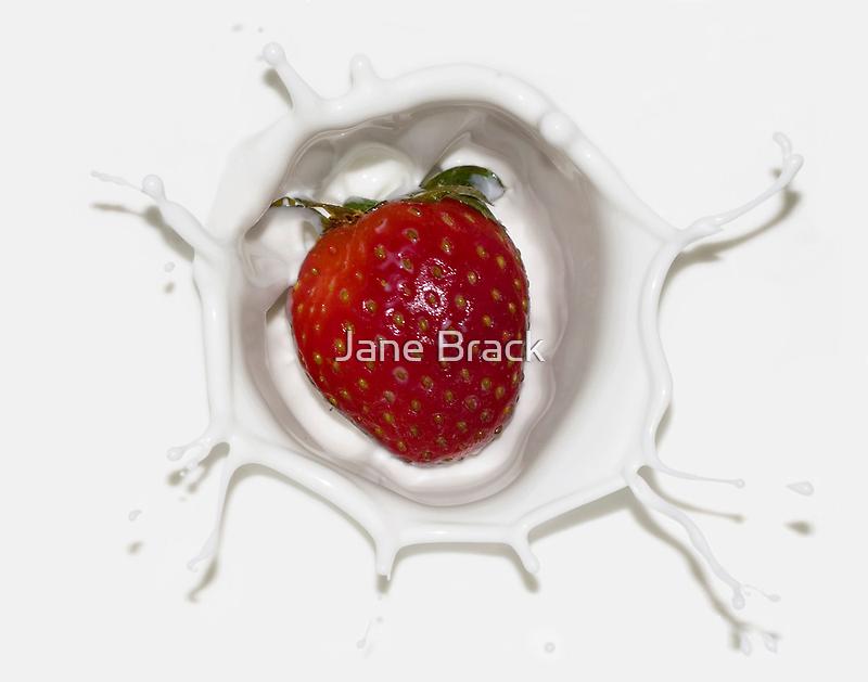 Splash of Strawberry by Jane Brack