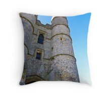 Donnington Castle - nr Hungerford Throw Pillow