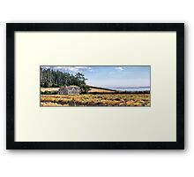 Ferry House Panorama Framed Print