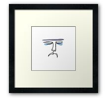If Monday had a face Framed Print