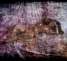 Draped muse by Martin Dingli