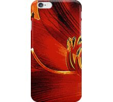 Blood-red Flowers iPhone Case/Skin