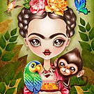 Frida Querida by sandygrafik