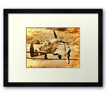 It`s a Squadron Scramble - 1940 Framed Print