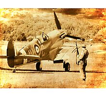 It`s a Squadron Scramble - 1940 Photographic Print