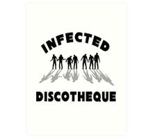 Infected Discotheque Art Print