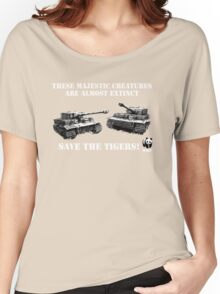 Save the Tigers! Women's Relaxed Fit T-Shirt