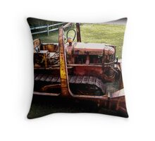Old Equipment Throw Pillow