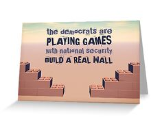 Build A Real Wall Greeting Card