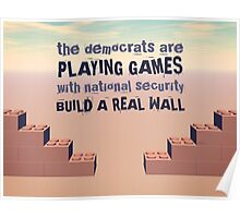 Build A Real Wall Poster