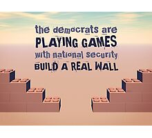 Build A Real Wall Photographic Print