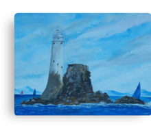 Fastnet Rock Lighthouse Canvas Print