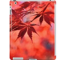 Japanese Red Maple 2 iPad Case/Skin