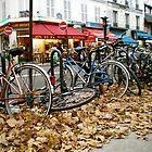 Bikes - Montmartre (Paris, France) by Britland Tracy