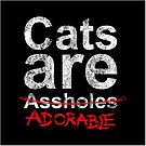 Cats are.... by _ VectorInk