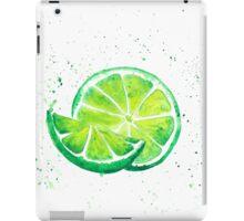Fruit lime iPad Case/Skin