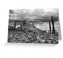 Lindisfarne Castle Greeting Card